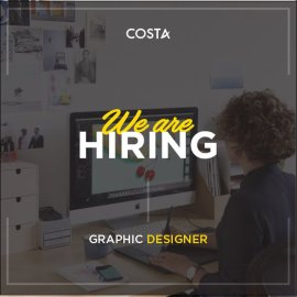 [COSTA] Tuyển Dụng Graphic Designer